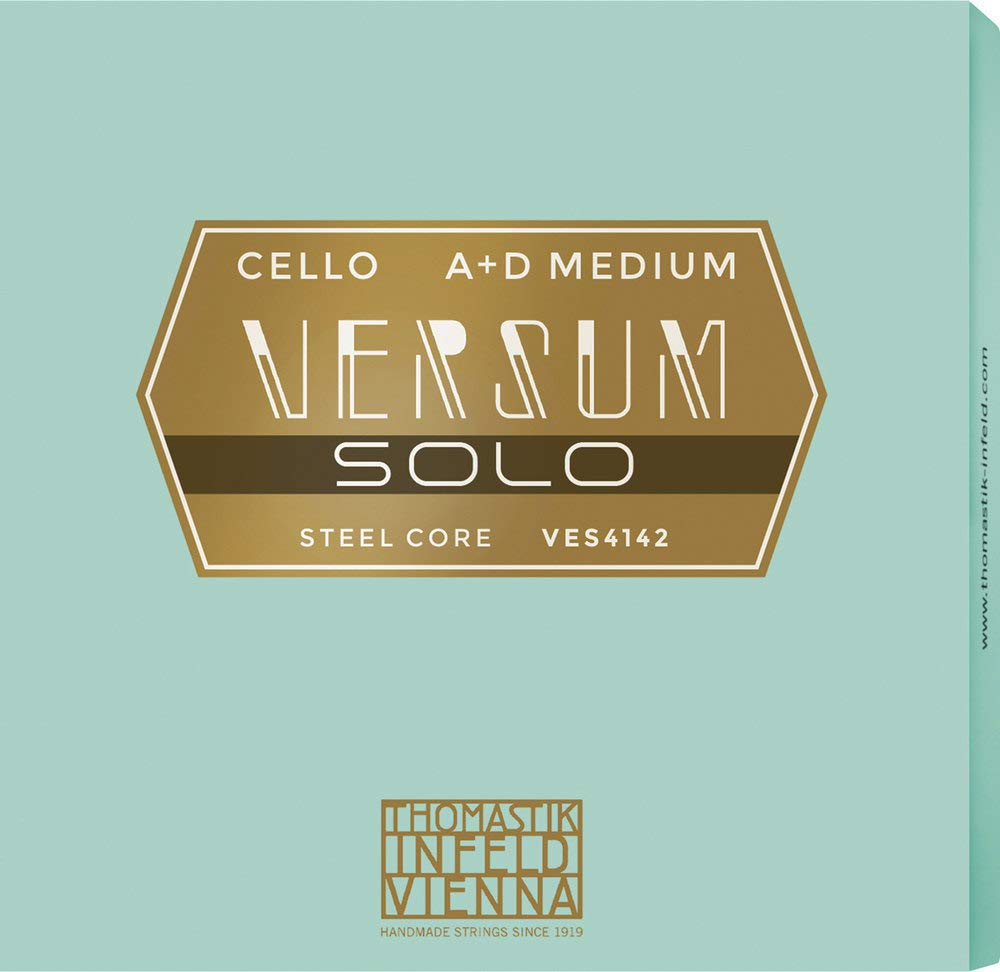 Thomastik Strings for Cello Versum Solo complete set 4/4, medium, VES400 by Thomastik