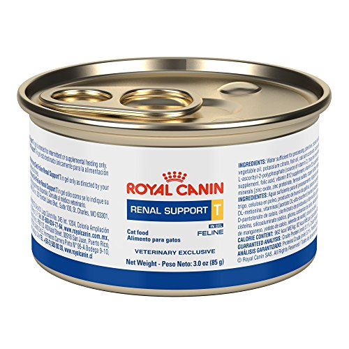 Canine Kidney Food Diet (Royal Canin Renal Support T SIG Canned Cat Food (24/3oz cans) by Unknown)