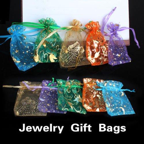 FidgetGear 50 × Organza Jewelry Candy Pendent XMAS Wedding Party Favor Mini Gift Pouch Bags from FidgetGear