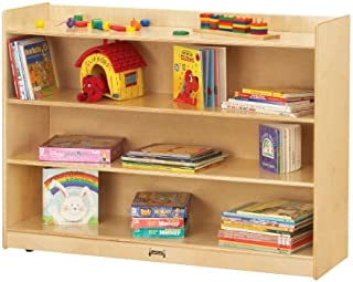 product image for Jonti-Craft Adjustable Mobile Bookcase with Lip