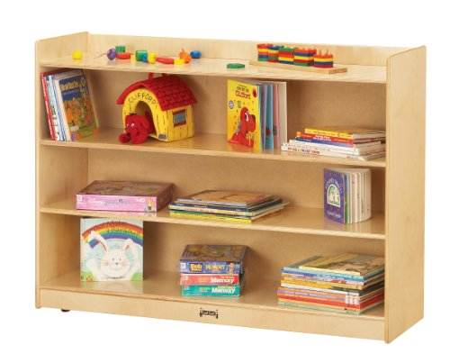 Jonti-Craft 0782TK Adjustable Mobile Bookcase with Lip by Jonti-Craft
