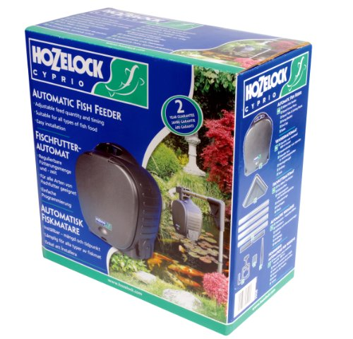 Automatic Pond Fish Feeder by Hozelock