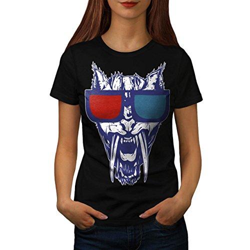 Party Leopard Shades DJ Tiger Women S T-shirt   Wellcoda ()