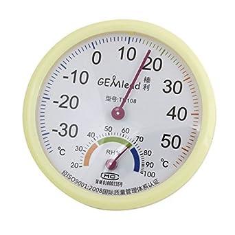 Humedad de la temperatura de prueba Medidor de humedad termómetro higrómetro Beige