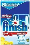 Finish Powder Dishwasher Detergent, Lemon Fresh Scent, 75 oz(Pack of 2)