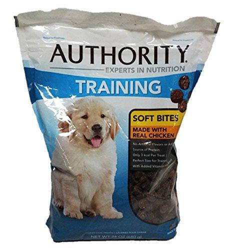 Authority Training Soft Bites Dog Treats, 24 Ounces (Chicken)