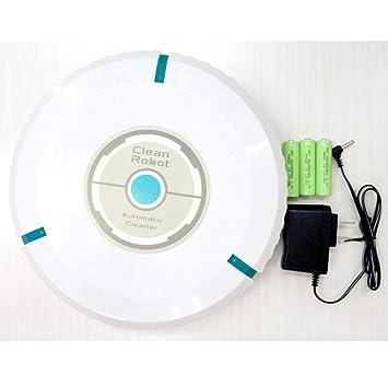 SPFAZJ Robot aspiradora inteligente barrer y fregar el suelo Robot multifuncional barrendero hogar lazy limpieza machin de carga Práctico E: Amazon.es: ...