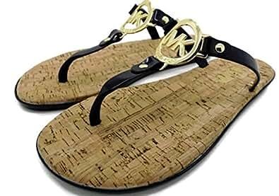 Amazon Com Michael Kors Womens Mk Charm Jelly Sandal