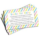 Baby Shower Book Insert Request Cards (50-Cards)