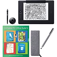 Wacom Intuos Pro Large Paper Bundle w/ Extra Stylus and Corel Office 5