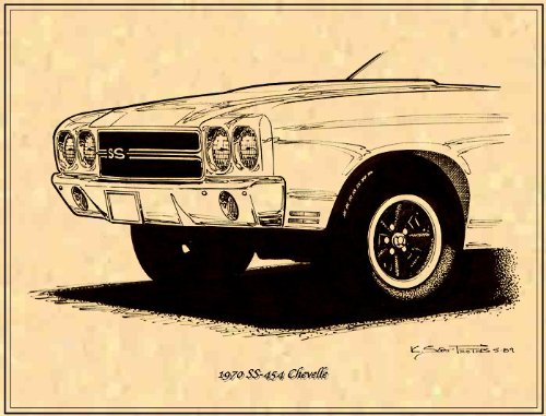 1970 SS-454 Chevelle - Series Ch4