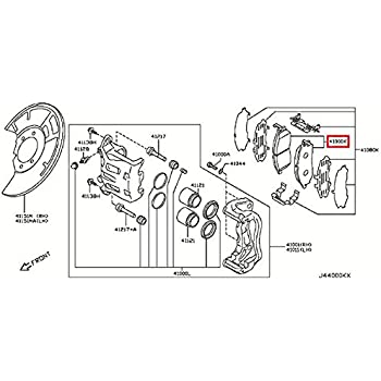 Front Brake Pad Kit DA06MEG09TNW