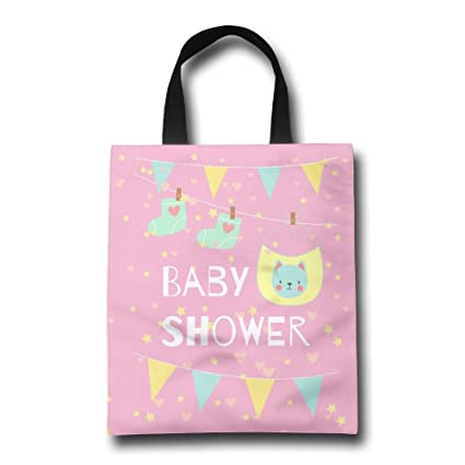 amazon com casual shopping bags with baby shower invitation