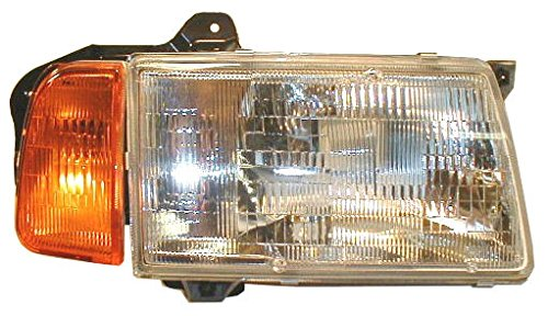 Headlight Headlamp w/Amber Corner Passenger Side Right RH for 89-98 Sidekick