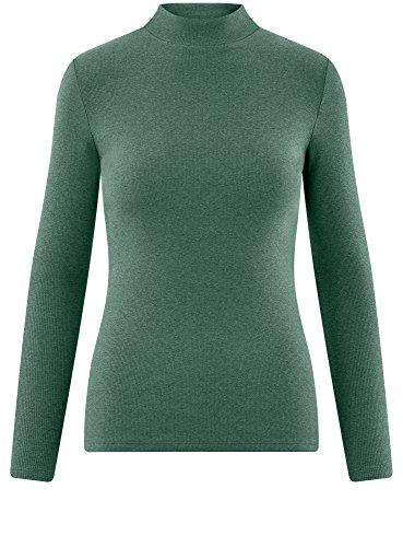 Donna Lupetto 6d00m Basic Verde Maglione Ultra a oodji 5xqX8R0