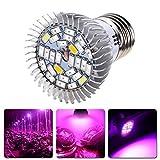 TopYart 28W Full Spectrum E27 LED Grow Light Growing Lamp for Plants