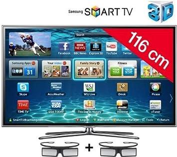 Samsung televisor LED 3d con Smart TV UE46ES6800 HD TV 1080p, 46 pulgadas (116 cm) 16/