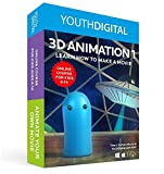 Software : Youth Digital 3D Animation - Self-Paced Online 3D Animation Course for Ages 8-14