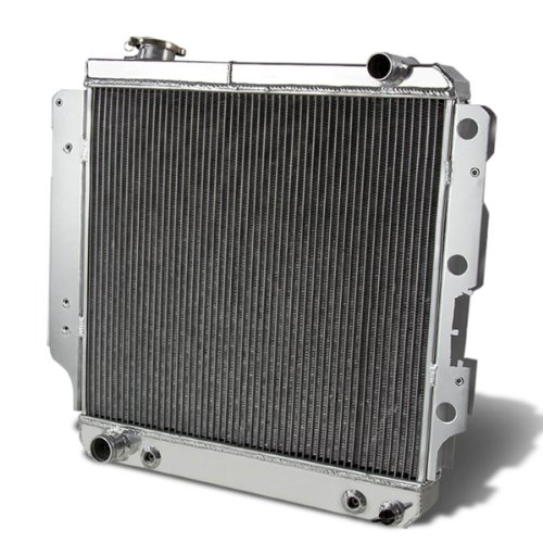 DNA Motoring RA-JEEP87-3 Aluminum Racing Radiator