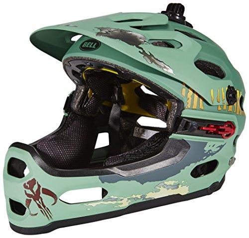 Bell Super 2R Mips Star Wars Helmet Limited Edition Matte Boba Fett Kopfumfang 58-62 cm 2016 Fullface Helm