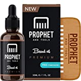 Prophet and Tools Beard Oil and Beard Comb Kit! FREE Beard Care Ebook