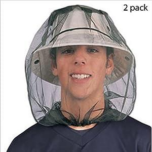 BHCSTORE Insetto capo rete netta Maschera di protezione protettiva anti-zanzara Bee Bug Insetto cappuccio mosca… 1 spesavip