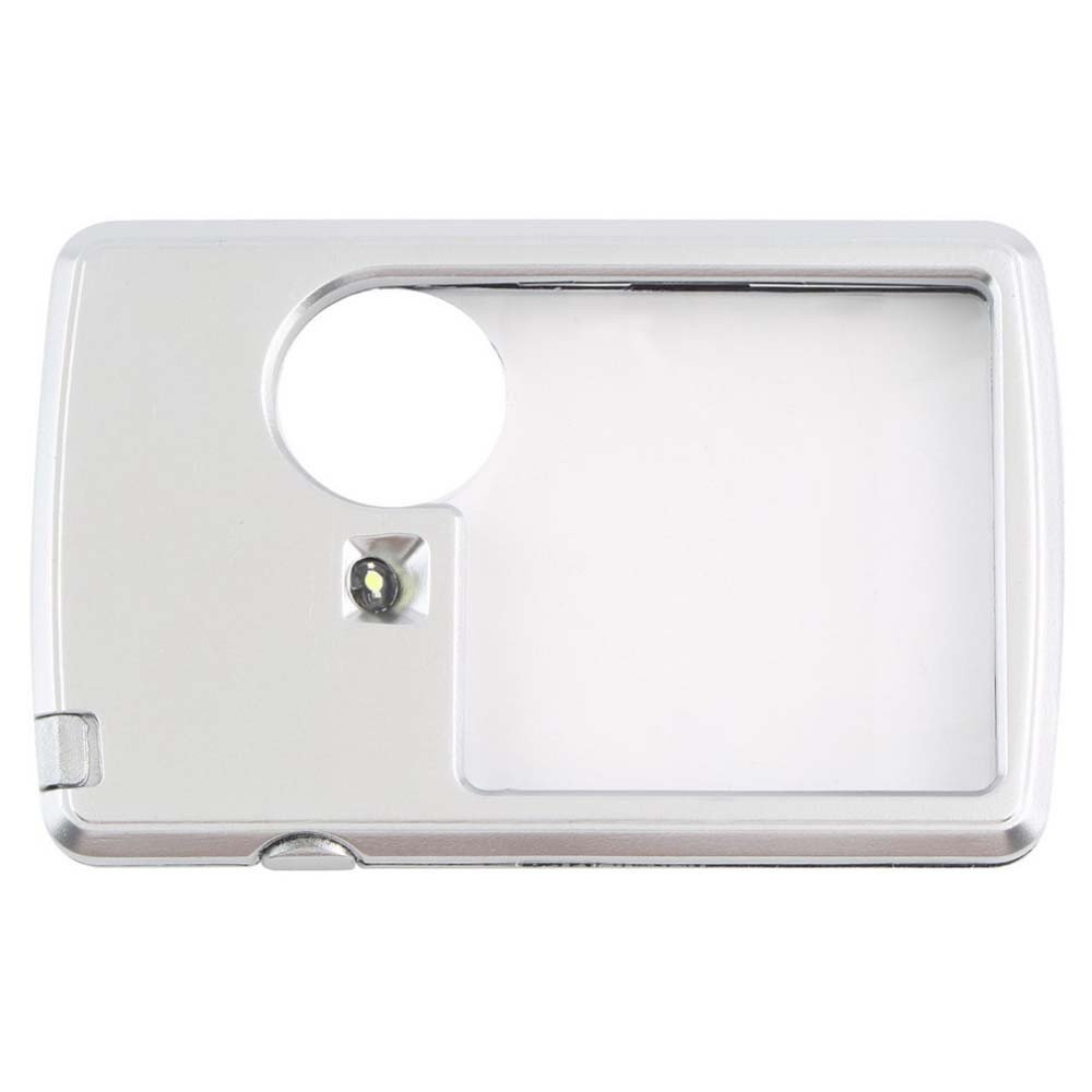 Clearance ! Sandistore LED Lighted Slide-Out Aspheric Magnifier with Protective Sleeve 88579mm
