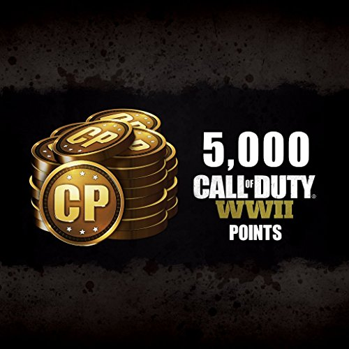 Call of Duty: WWII: Call of Duty: WWII - 5000 COD Points - PS4 [Digital Code]