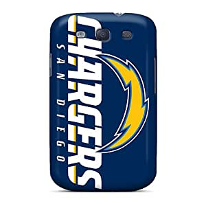 DrawsBriscoe Samsung Galaxy S3 Anti-Scratch Hard Phone Covers Unique Design Colorful San Diego Chargers Series [OOw16340XTnK]