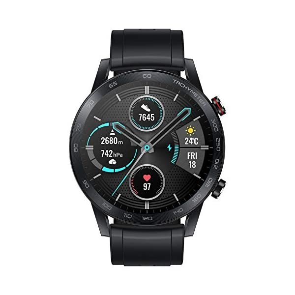 HONOR Smartwatch Magic Watch 2 46mm, 14 Giorni in Standby, con Cardiofrequenzimetro, modalità di Esercizio, GPS, Fitness… 3