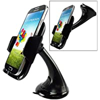 Moto Z Play Droid Compatible Car Mount Windshield Holder Swivel Cradle Window Rotating Dock Stand Strong Suction for Motorola Moto Z Play Droid
