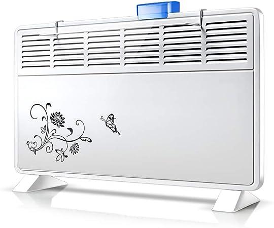 Silencieux et /à /économie d/énergie Chauffage /électrique Convecteur Radiateur de s/écurit/é Radiateur de Salle de Bain /à Fixation Murale ou au Sol 1000w//2000w