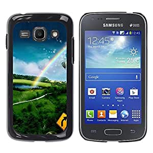 Exotic-Star ( Nature Hot Air Adventure ) Fundas Cover Cubre Hard Case Cover para Samsung Galaxy Ace 3 III / GT-S7270 / GT-S7275 / GT-S7272