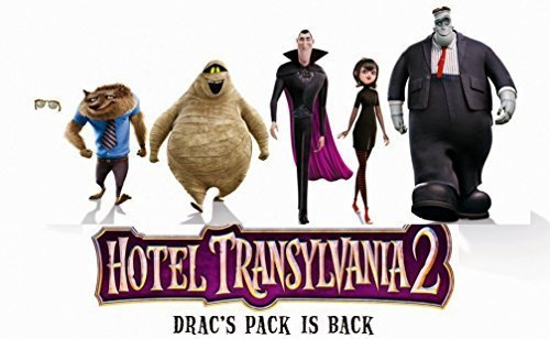 Hotel Transylvania 2 Design Edible Image Photo Birthday Party Event 1/4 Quarter Sheet Cake Topper Personalized Custom (Hotel Transylvania Decorations)