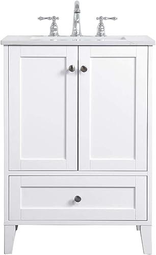 Elegant Decor 24 inch Single Bathroom Vanity