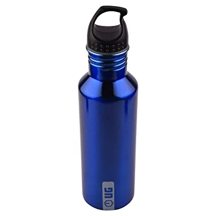 BPA Free Stainless Steel Sports Water Bottle Screws with Cap Hiking Cycle