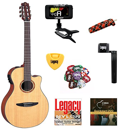 yamaha-ntx700-thinline-cutaway-classical-electric-guitar-solid-top-with-legacy-accessory-bundle-many