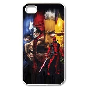DIY iPhone 4,4S Case, Zyoux Custom iPhone 4,4S Case Cover - Deadpool