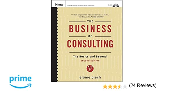 The Business of Consulting, (CD-ROM Included): The Basics and ...