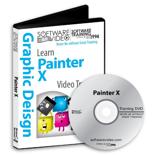Software Video Learn Corel Painter X Training DVD Sale for sale  Delivered anywhere in USA