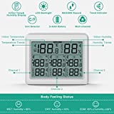 ORIA Indoor Outdoor Thermometer with 3 Wireless