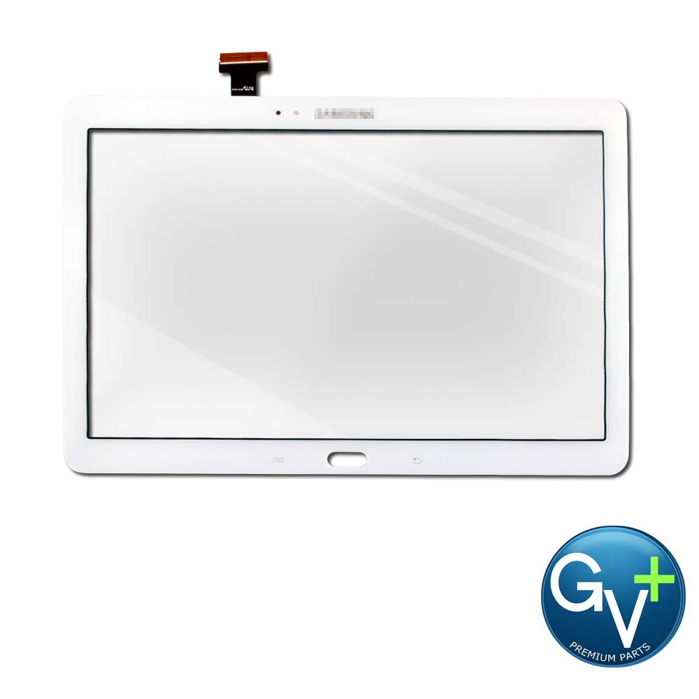 White Group Vertical Replacement Touch Screen Digitizer Compatible with Samsung Galaxy Note 10.1 (2014 Edition) (SM-P600, SM-P601, SM-P605) (GV+ Performance)