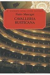 Cavalleria Rusticana: Vocal Score Paperback