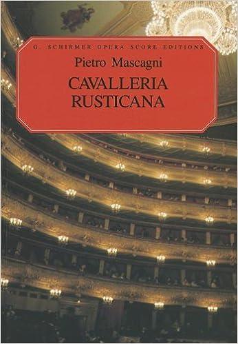 :REPACK: Cavalleria Rusticana: Vocal Score. demand helped scripts Welcome facil iPhone