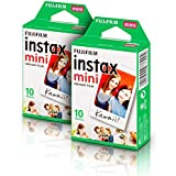Kit 2x Filme Instantâneo Fujifilm Instax Mini com 10 Unidades