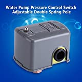 FTVOGUE 40-60PSI 110V-230V Water Pump Pressure