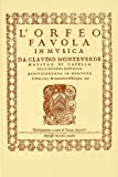 img - for L'ORFEO FAVOLA IN MUSICA V/SC book / textbook / text book