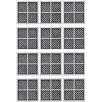Nispira Refrigerator Air Filter Compatible with LG LT120F ADQ73214404, 12 Filters