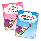 Personalized Custom Name Birthday Book for Kids | Best Birthday Gift for Kids