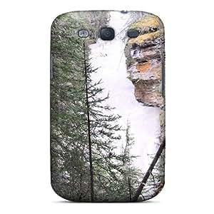 Fashion Tpu Case For Galaxy S3- Rapid River Johnston Canyon Banff Alberta 10 Defender Case Cover